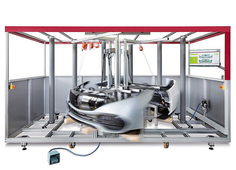 Highly standardized bumper test system by Berghof Testing