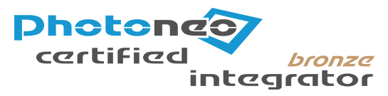 [Translate to English:] Photoneo certified integrator bronze